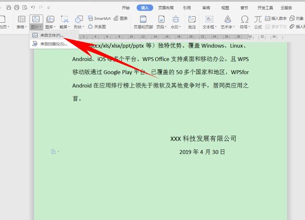 WPS文字办公—在文档当中插入电子印章 wps 第2张