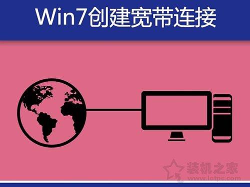 Win7电脑宽带连接怎么创建快捷方式?Win7系统创建宽带连接的方法 网络技术 第1张
