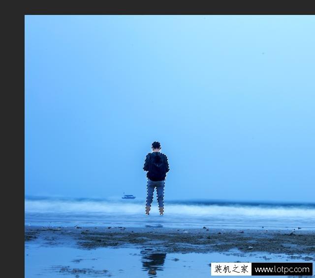 如何使用PS更换照片的背景?使用photoshop软件更换人物背景! Photoshop 第3张