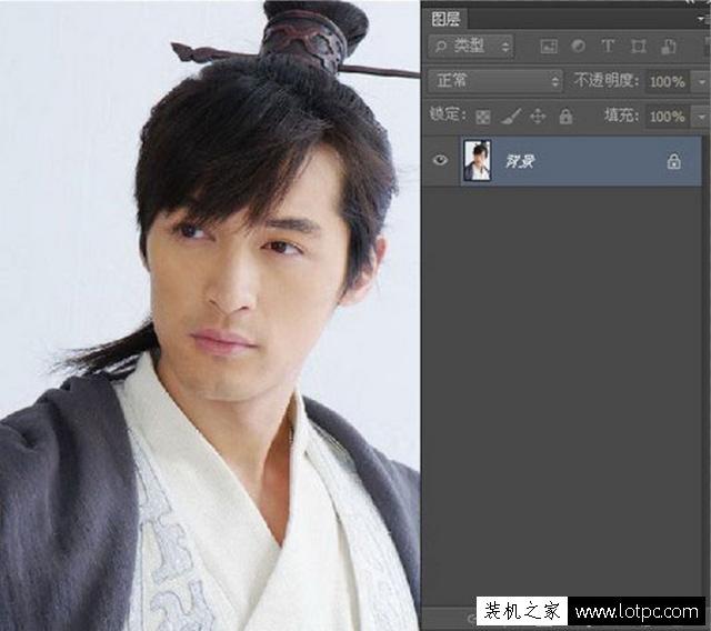 利用PS软件将人物图片转成铅笔画,photoshop铅笔画制作教程 Photoshop 第4张