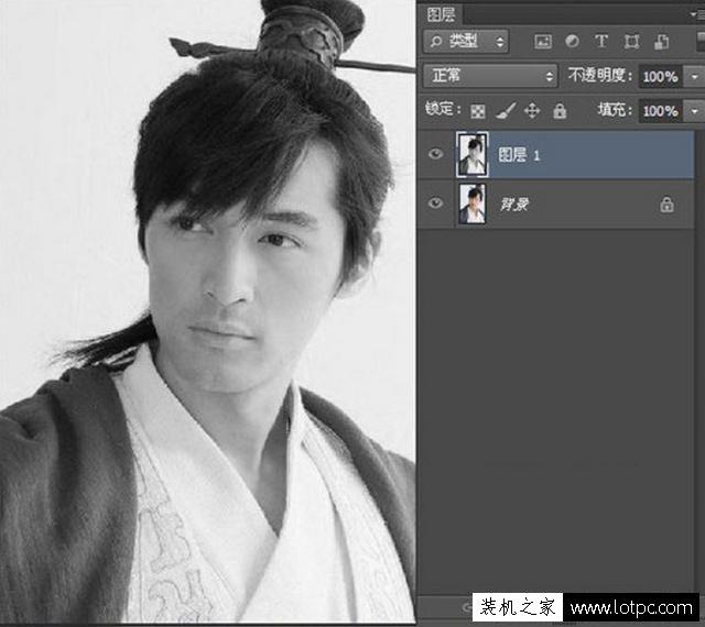 利用PS软件将人物图片转成铅笔画,photoshop铅笔画制作教程 Photoshop 第5张