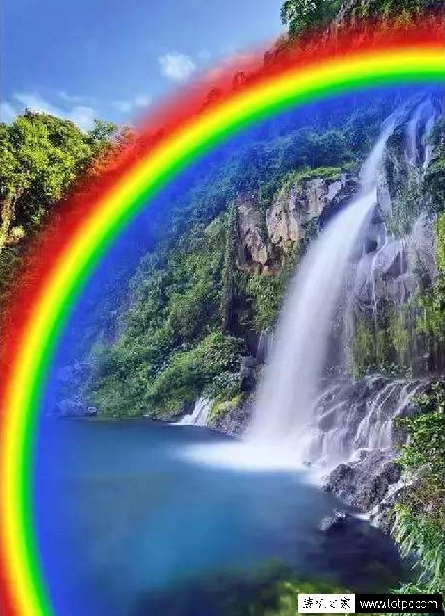 教你如何使用photoshop制作出逼真漂亮的彩虹教程 Photoshop 第6张