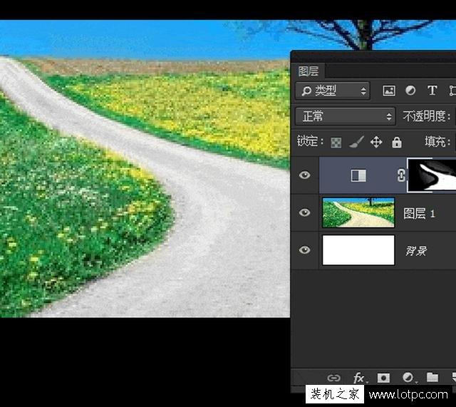 教你如何使用photoshop软件将照片局部去色 Photoshop 第6张