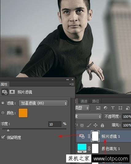 在photoshop中如何让图像突出主题,让画面更有层次 Photoshop 第7张