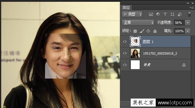 PS移花接木合成为人物换脸教程 photoshop换脸实战教程 Photoshop 第4张