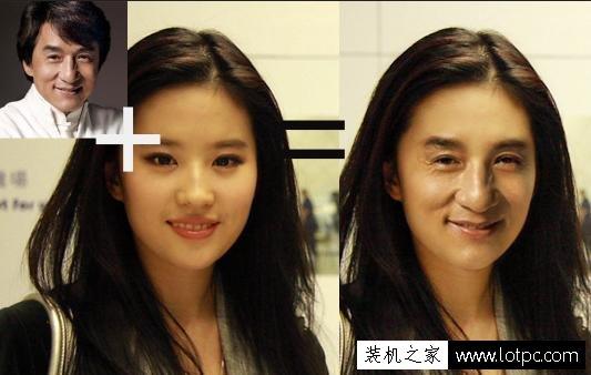PS移花接木合成为人物换脸教程 photoshop换脸实战教程 Photoshop 第1张